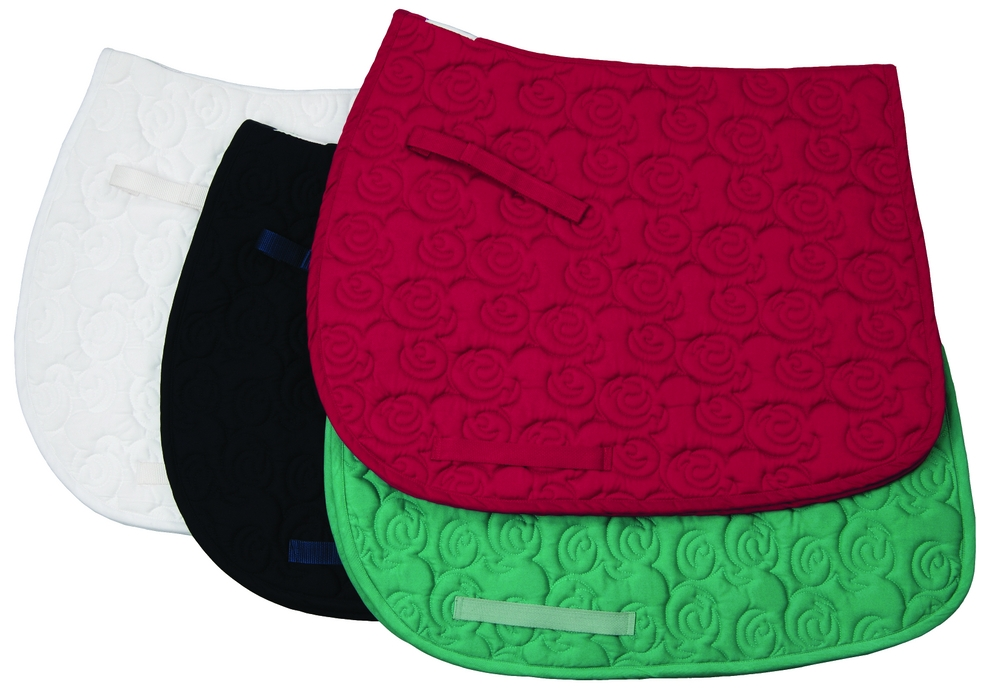 TuffRider Rosette All Purpose Saddle Pad