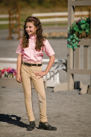 TuffRider Childrens Ribb Lowrise Pull-On Jodhpurs