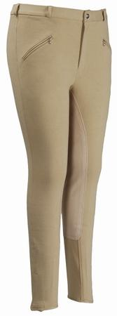 TuffRider Mens Cotton Full Seat Breeches