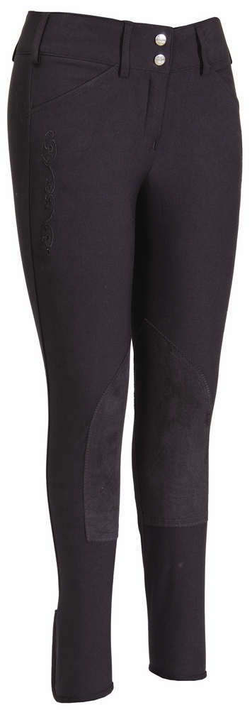 Equine Couture Ladies Regular Heritage Wide Waistband Schooling Breeches