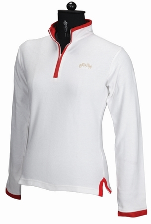 Equine Couture Schooner Long Sleeve Polo Shirt