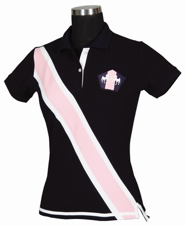 Equine Couture Bermuda Short Sleeve Polo Shirt