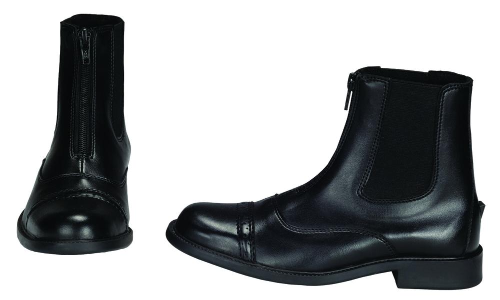 TuffRider Child's Childrens Starter Front Zip Paddock Boots