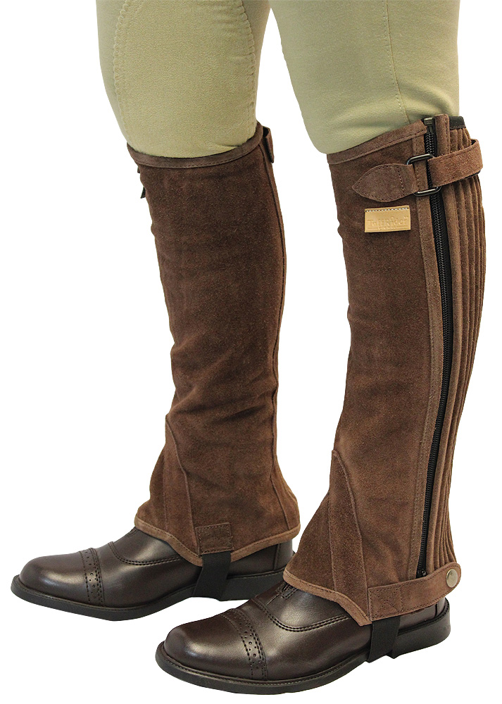 TuffRider Half Chaps Child