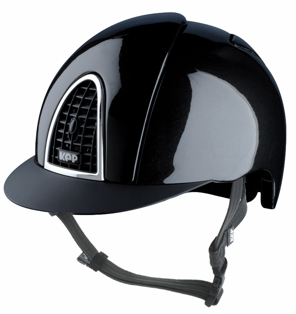 KEP Shiny with Black Grid Helmet