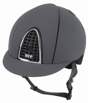 KEP Textile With Black Grid Helmet