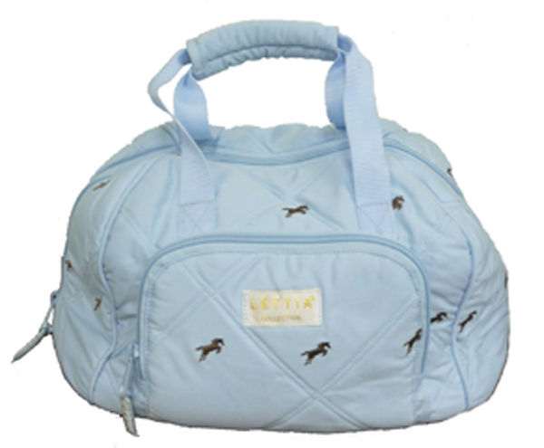 Lettia Helmet Bag with Embroidery