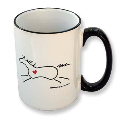 ''Heart Horse'' Mug
