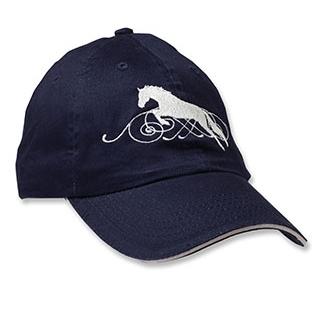 Kelley Jumper Horse with Scroll Cap