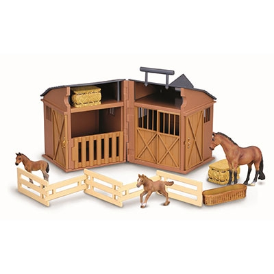 Kelley Stable Playset with Horses