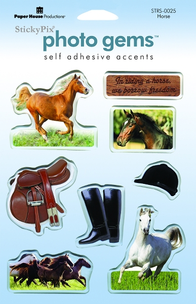 Horse Epoxy Sticker