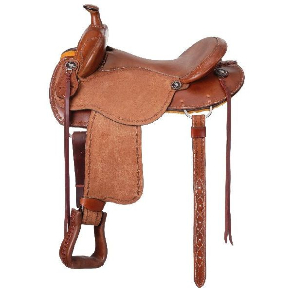 Brisbane Roughout Trail Saddle with Horn