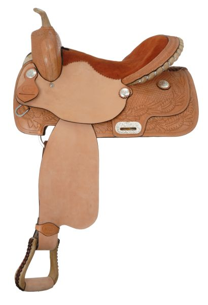King Series Competition Barrel Saddle