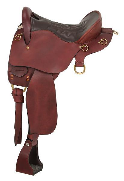 King Series Trekker Endurance Saddle without horn