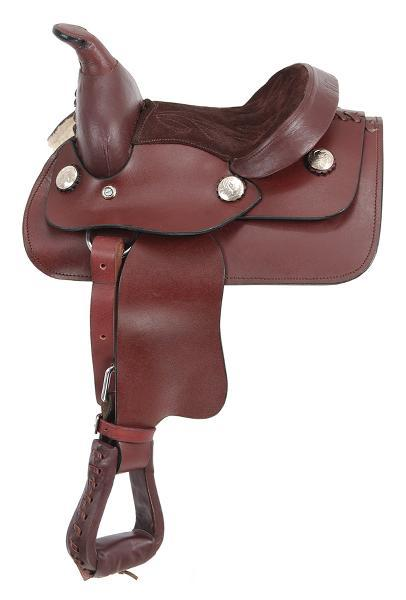 King Series Miniature Western Saddle