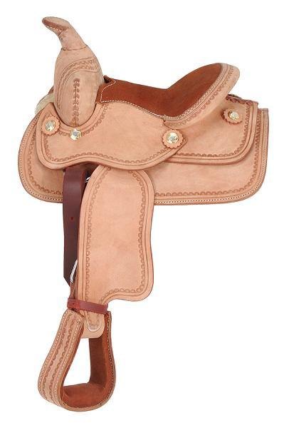 King Series Miniature Western Deluxe Saddle