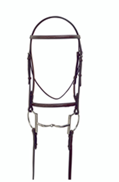 Masters Fancy Stitched Raised Bridle