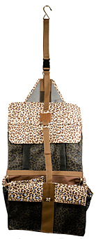 Lami-Cell Animal Print Hanging Accessory Bag