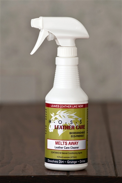 MOSS Naturals MELTS AWAY Leather Cleaner & Conditioner