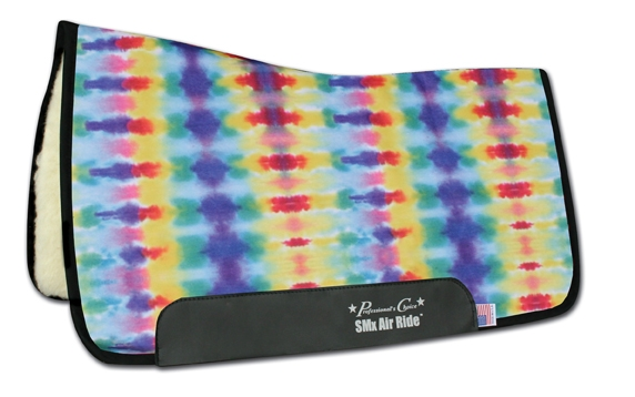 Professionals Choice SMX Air Ride All-Around Saddle Pad - Tie Dye