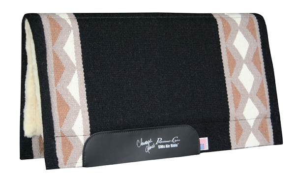 Professionals Choice Charmayne James SMX Air Ride Barrel Saddle Pad: Electra Pattern
