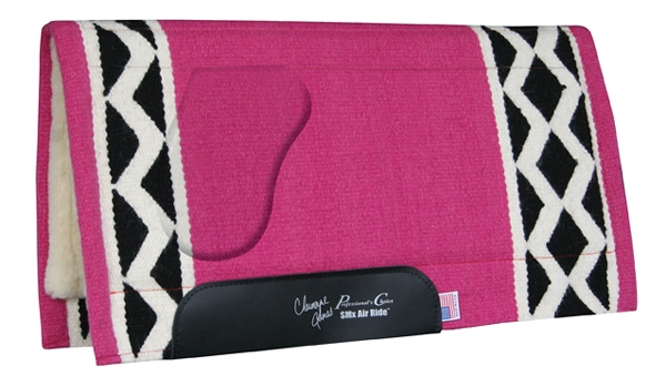 Professionals Choice Charmayne James SMX Air Ride OrthoSport Saddle Pad: Electra Pattern