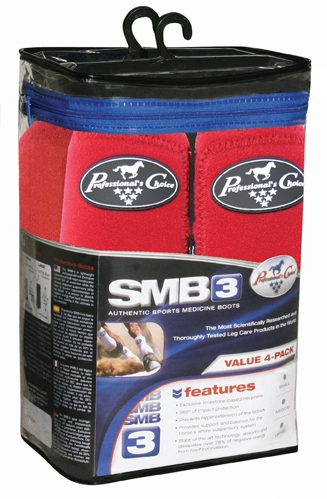 Professionals Choice SMB 3 Sports Medicine Boots Value 4-Pack