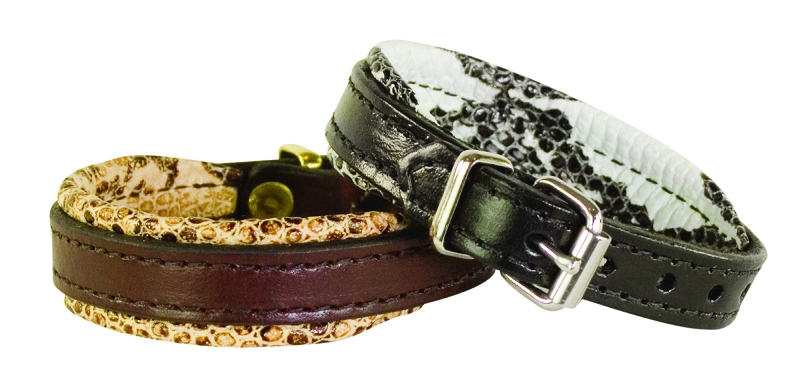 Perri's Padded Leather Bracelet