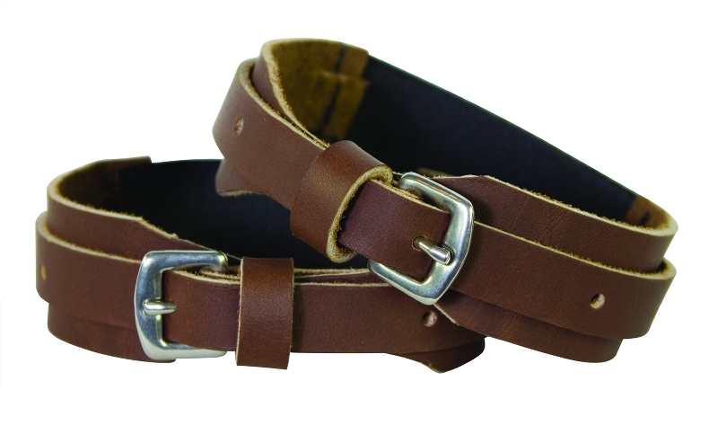 Perri's Leather Velcro Garter Straps