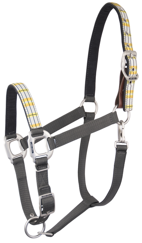 Lami-Cell Yellow Plaid Halter, Breakaway