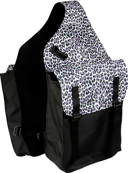 Lami-Cell Snow Leopard Medium Saddle Bag