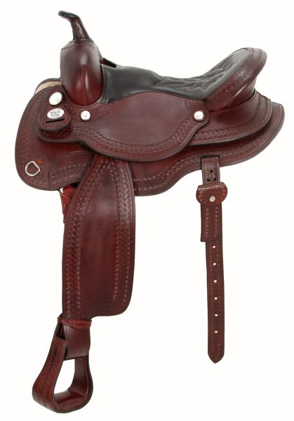 Royal King Rb Auto Adjust Flex Tree Saddle-Leatherseat