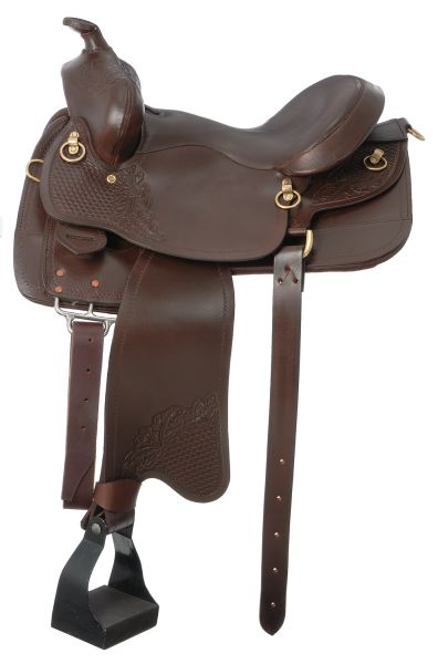 Royal King Laredo Trail Gaited Horse Saddle