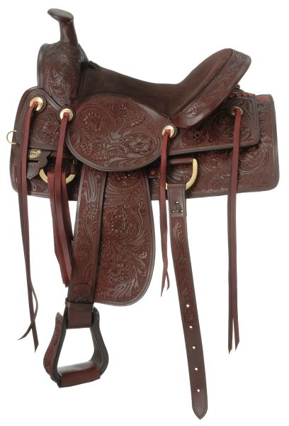 Royal King Clayton Ranch & Trail Saddle
