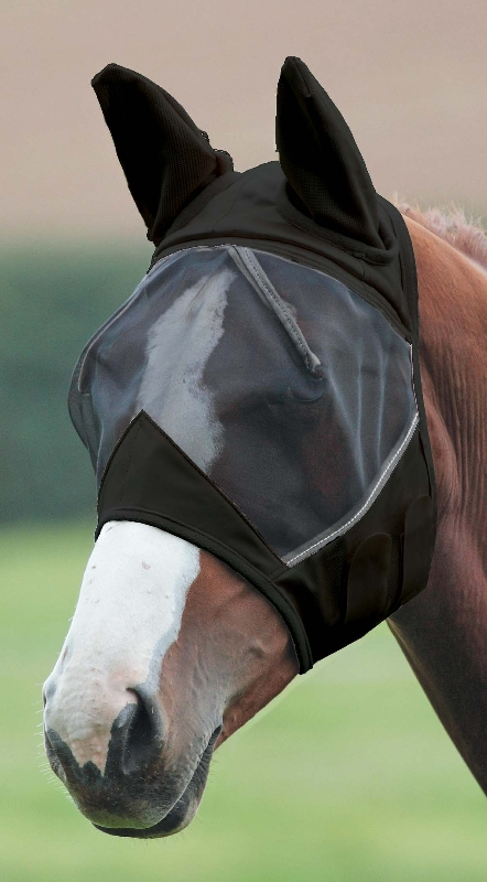 Full Face Mesh Fly Mask