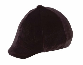 Velveteen Hat Cover with Peak Pocket