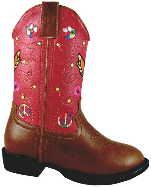 Smoky Mountain Toddler Austin Lights Boot - Wings & Flowers