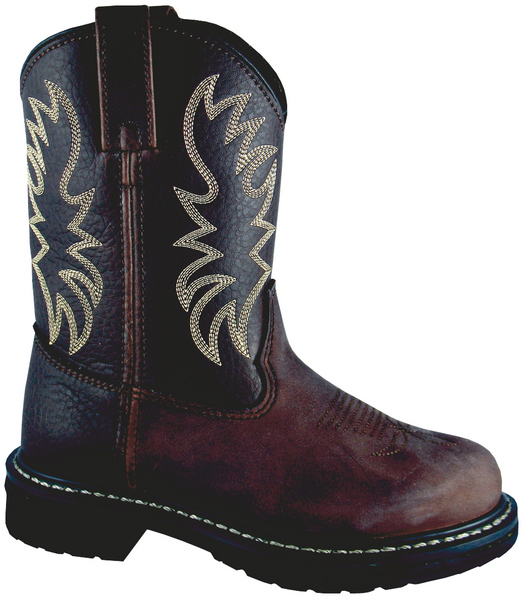 Smoky Mountain Youth Buffalo Leather Wellington Boot
