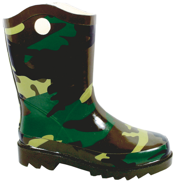 Smoky Mountain Child's Camouflage Rubber Boot