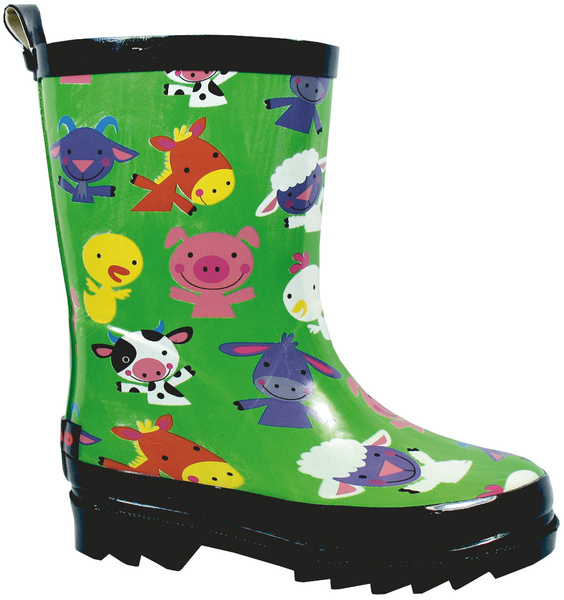 Smoky Mountain Child's Barnyard Rubber Boot