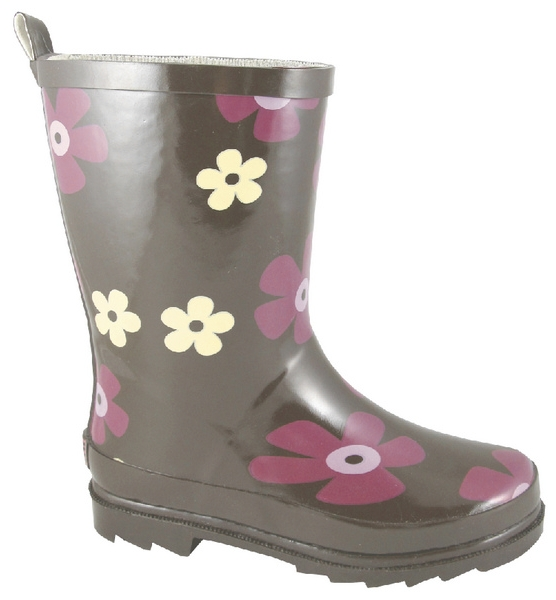Smoky Mountain Toddler Daisy Flower Rubber Boot
