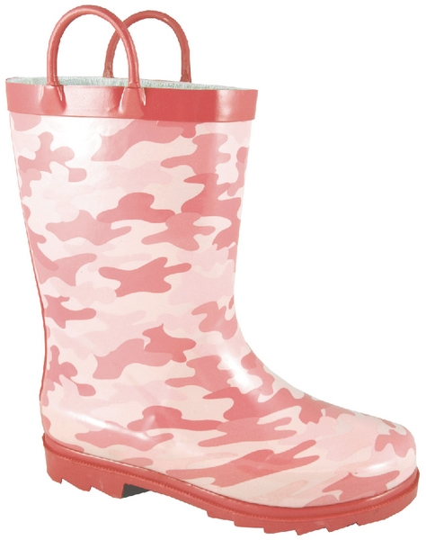 Smoky Mountain Child's Pastel Camoflauge Rubber Boot