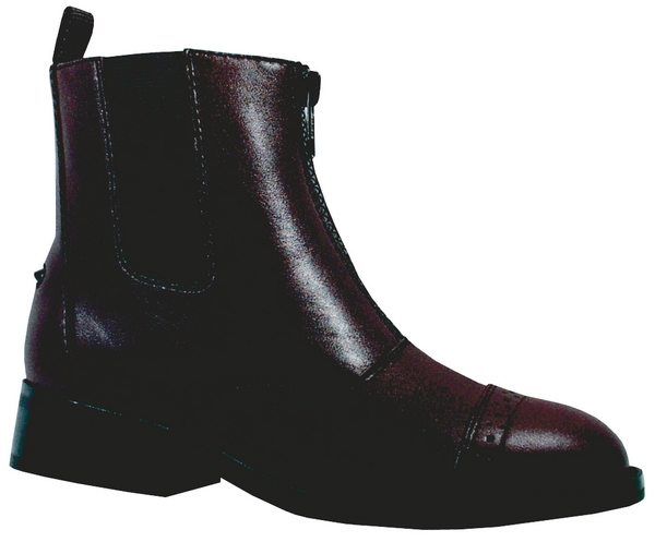 Smoky Mountain Youth Leather Zipper Paddock Boot
