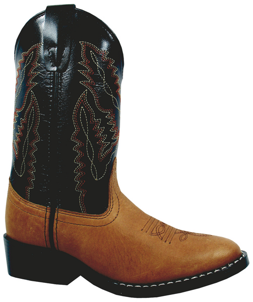 Smoky Mountain Child's Ranger Leather Western Boot