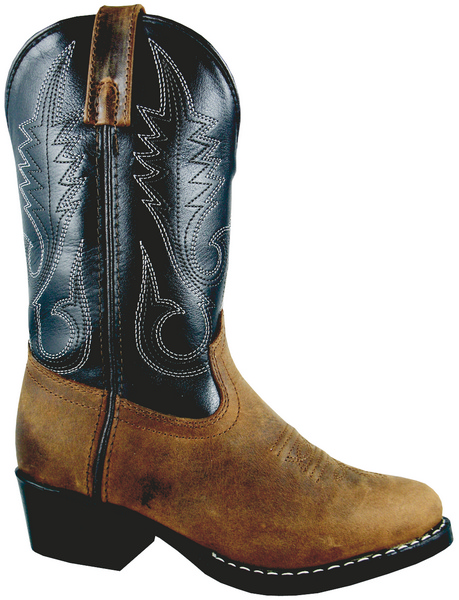 Smoky Mountain Child's Rosewood Leather Western Boot