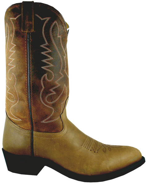 Smoky Mountain Men's Salem Leather Western Boot