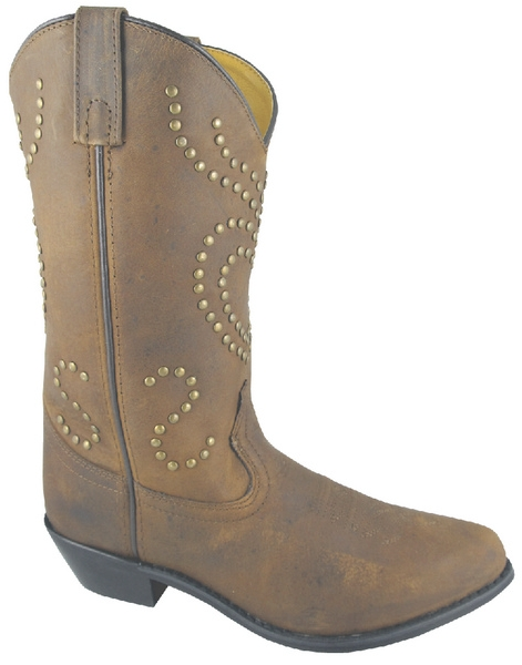 Smoky Mountain Women's Desert Heart Leather Western Boot