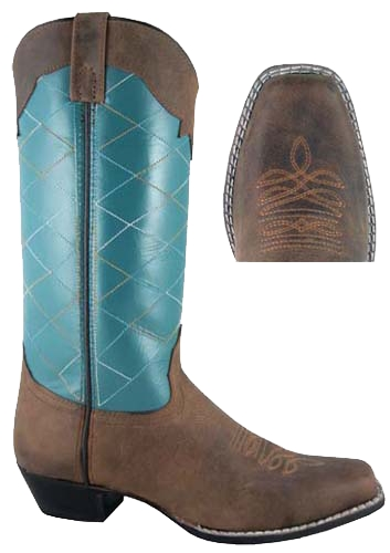 Smoky Mountain Women's Tucson Western Boot