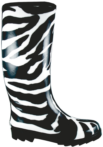 Smoky Mountain Women's Zebra Rubber Boot