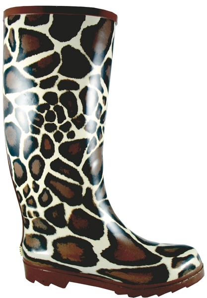Smoky Mountain Women's Giraffe Rubber Boot